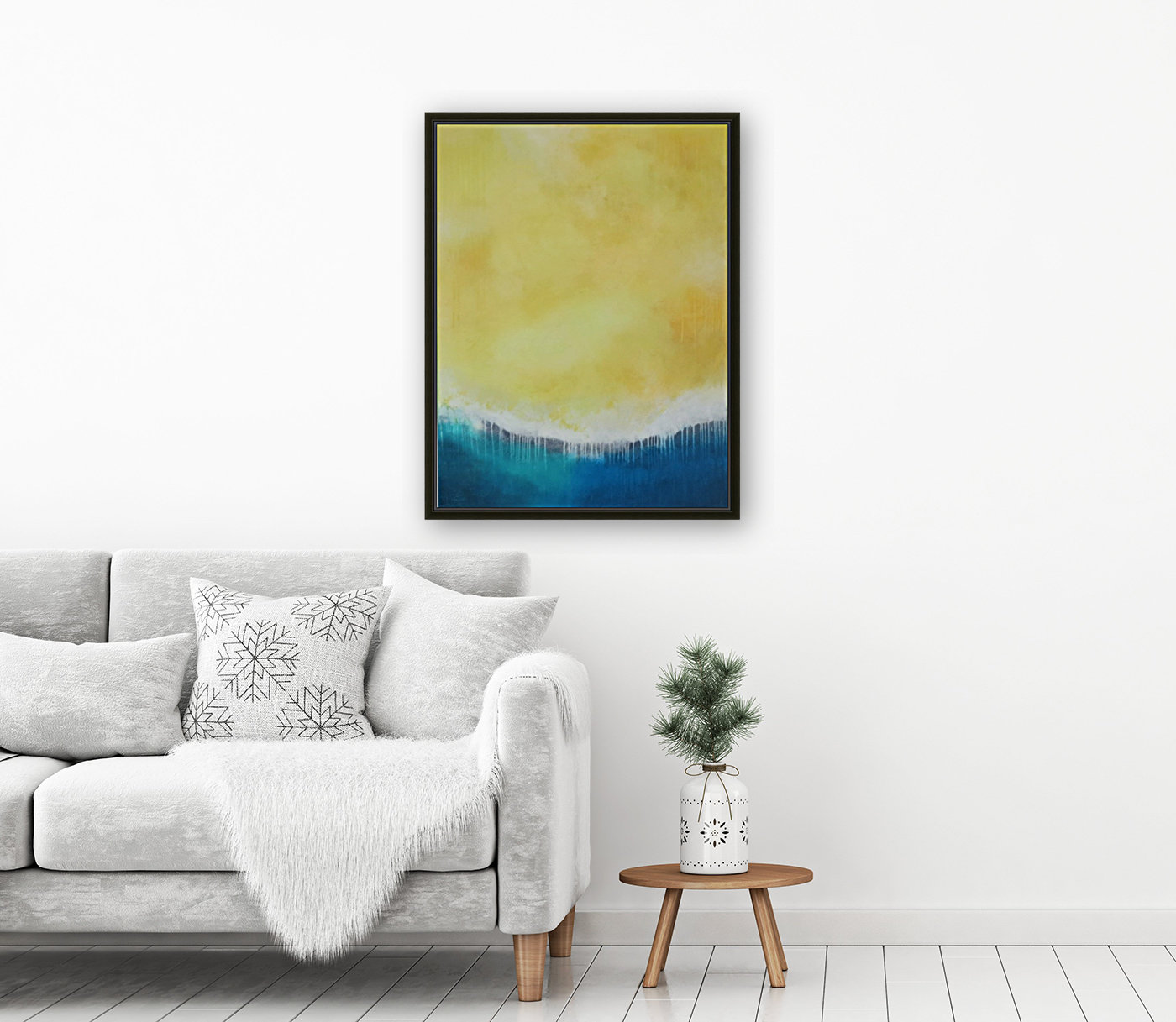 Untitled Daylight Series III with Floating Frame