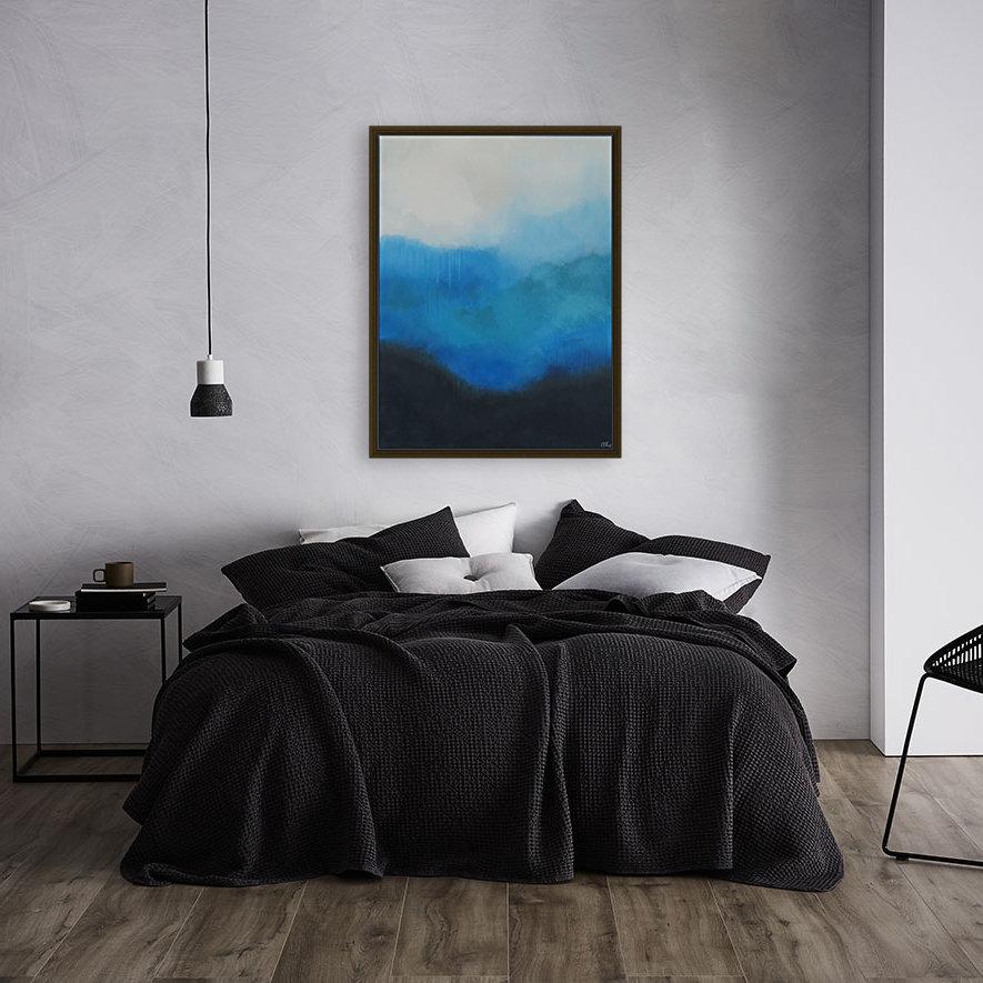 Tranquility Blue II.  Art
