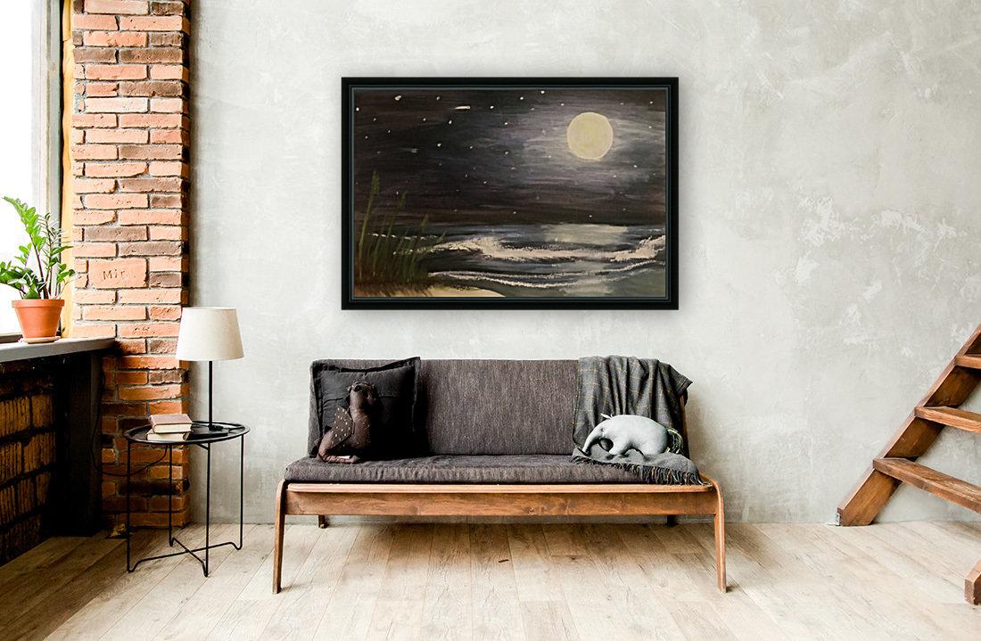 Moonlit Seascape  Art