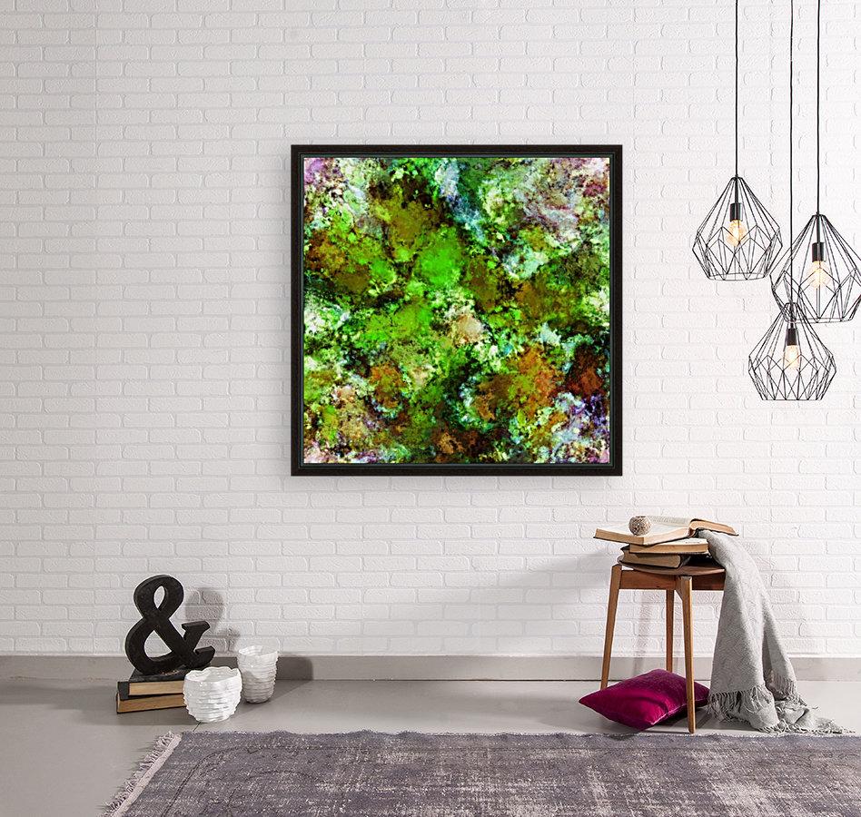 Green scene  Art