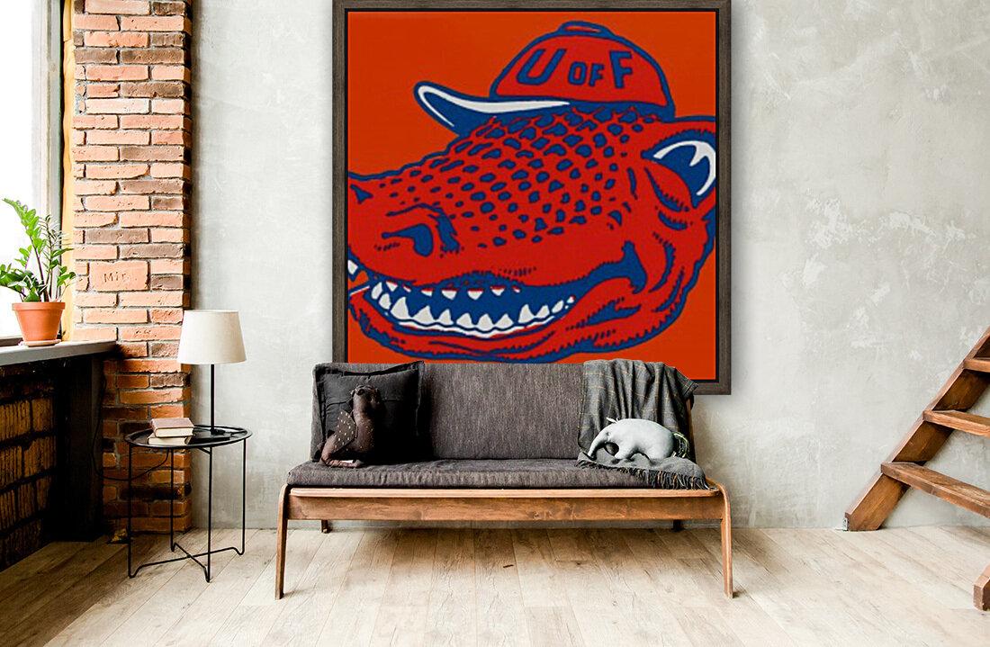 Vintage Florida Gators Wall Art  Art