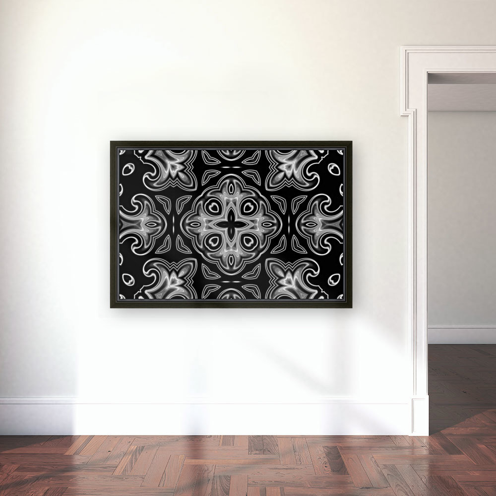 Abstract fine art with Floating Frame