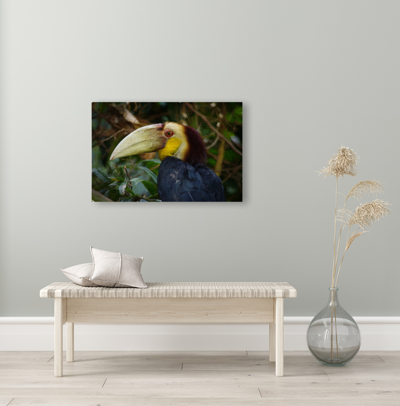 Toucan with Floating Frame