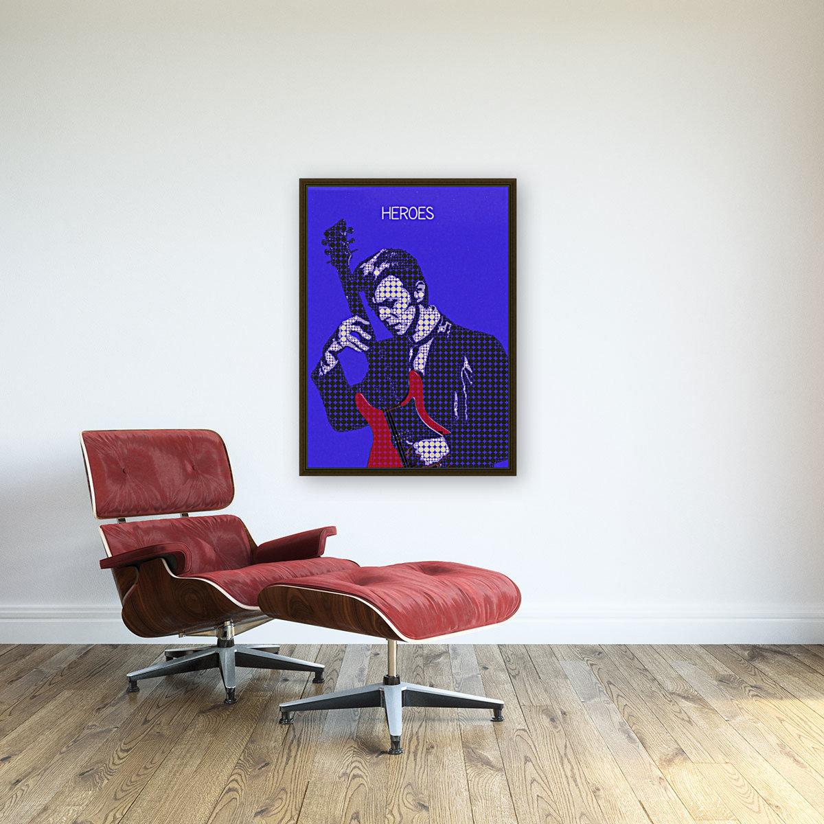 Heroes   David Bowie  Art