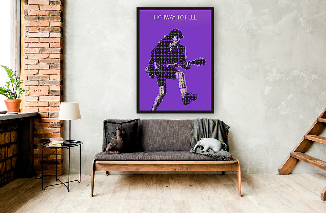 Highway to Hell   Angus Young  Art