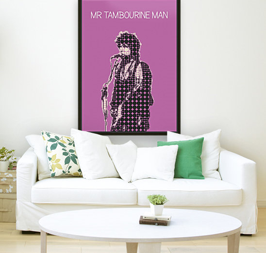Mr Tambourine Man   Bob Dylan  Art