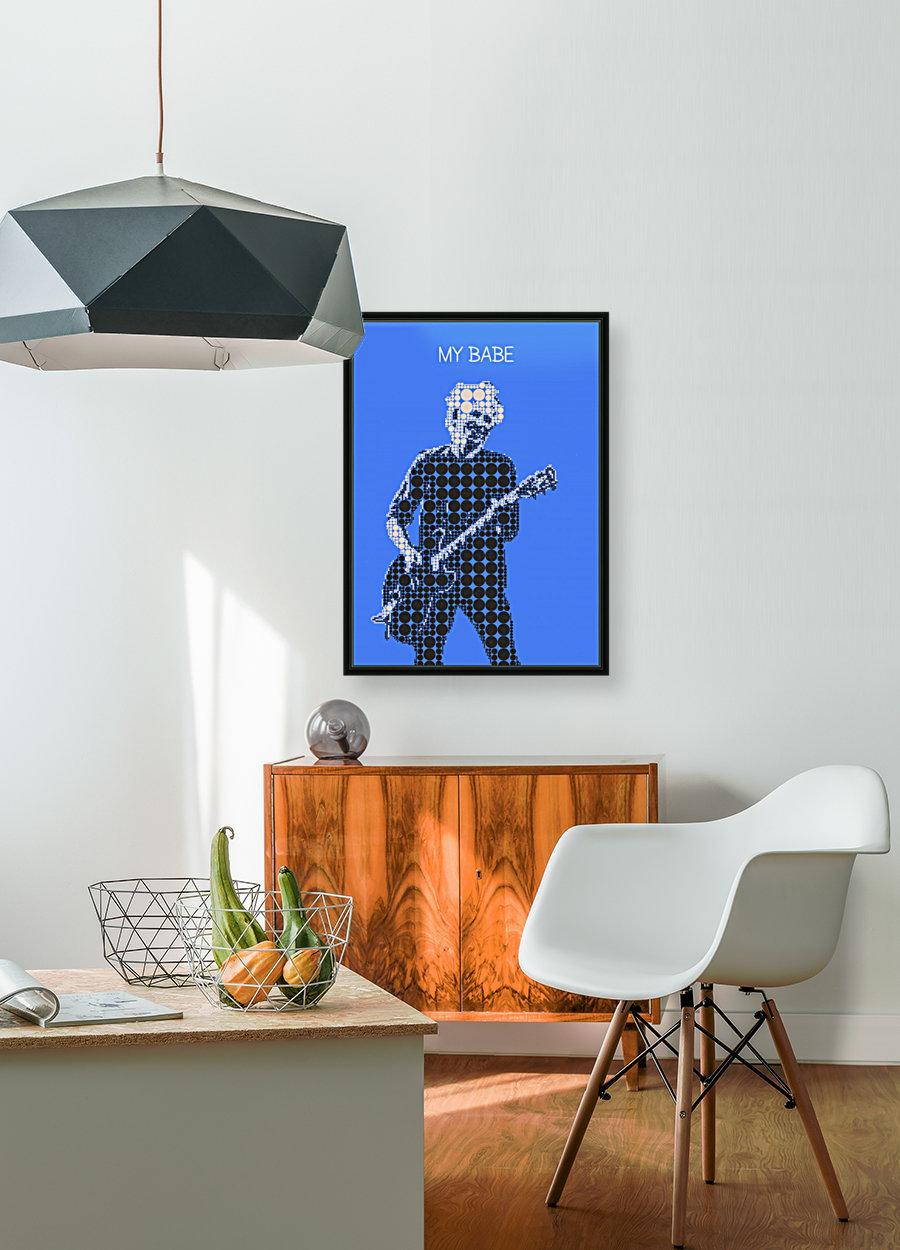 My Babe   Keith Richards  Art