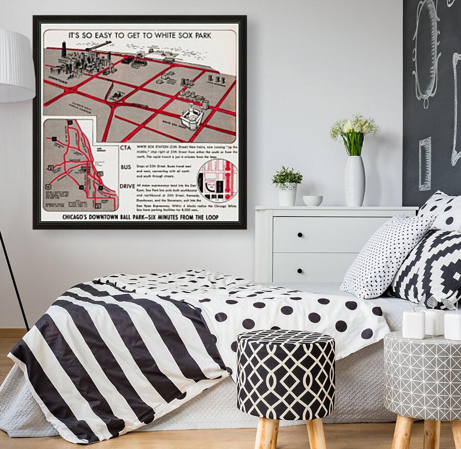 chicago map  Art