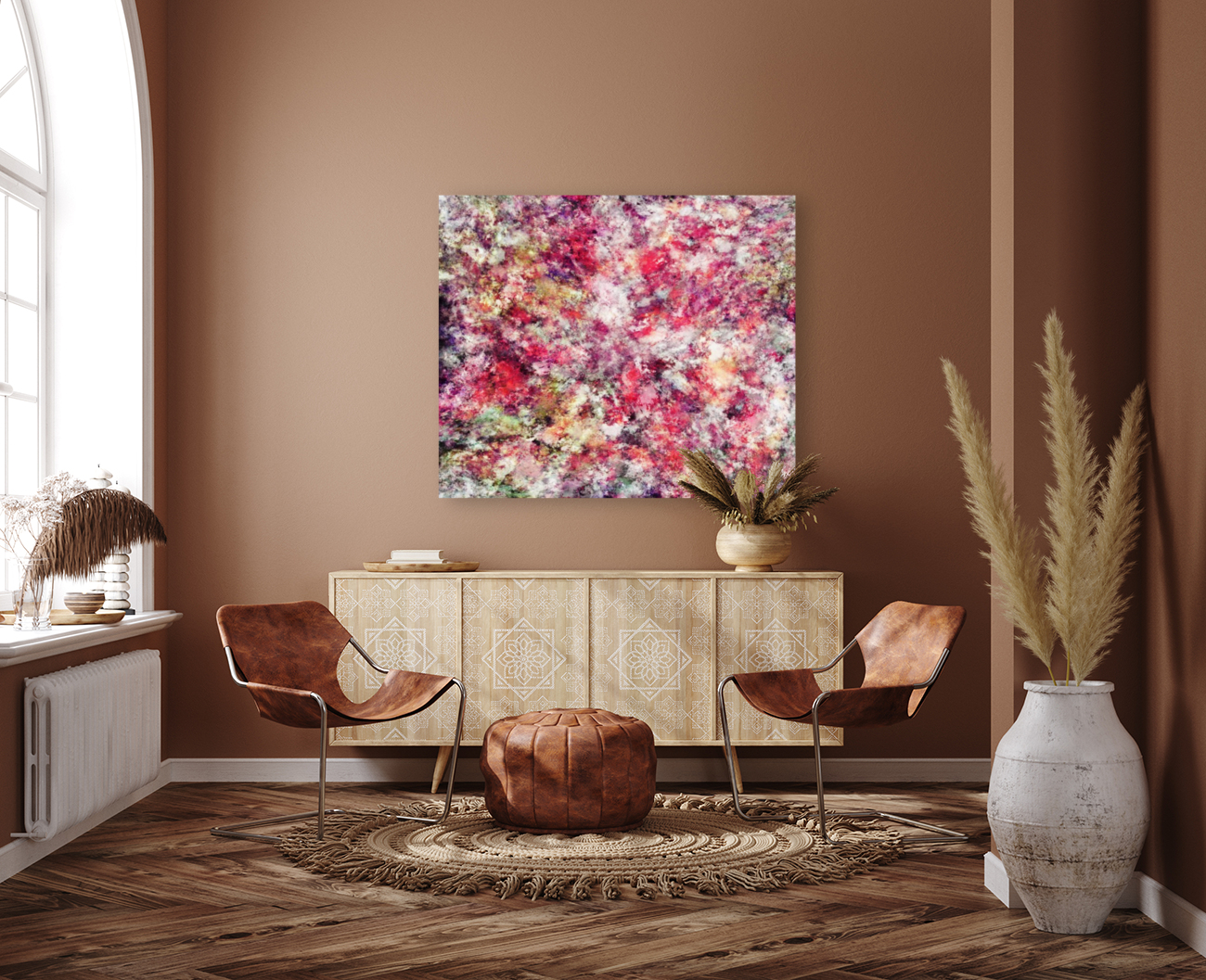 Rambling roses  Art