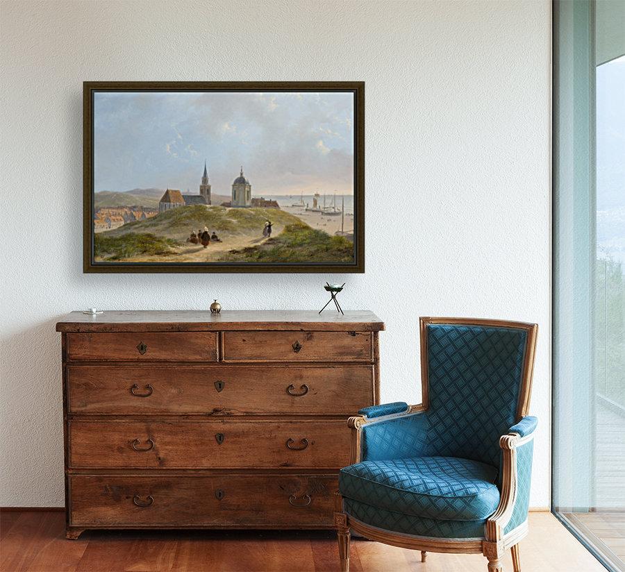 View on Scheveningen  Art
