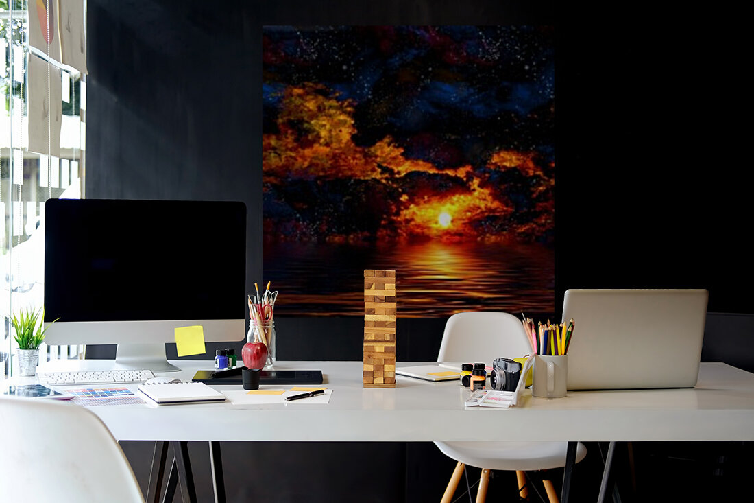 Amazing Sunset  Art