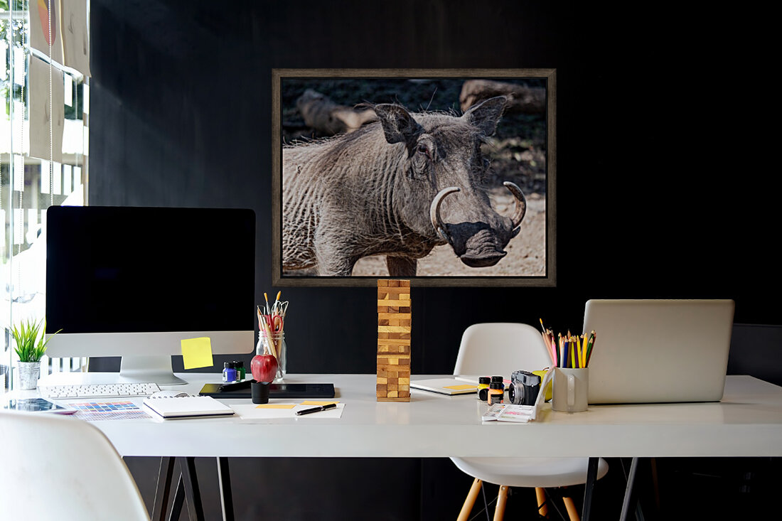 Warthog Close Up  Art