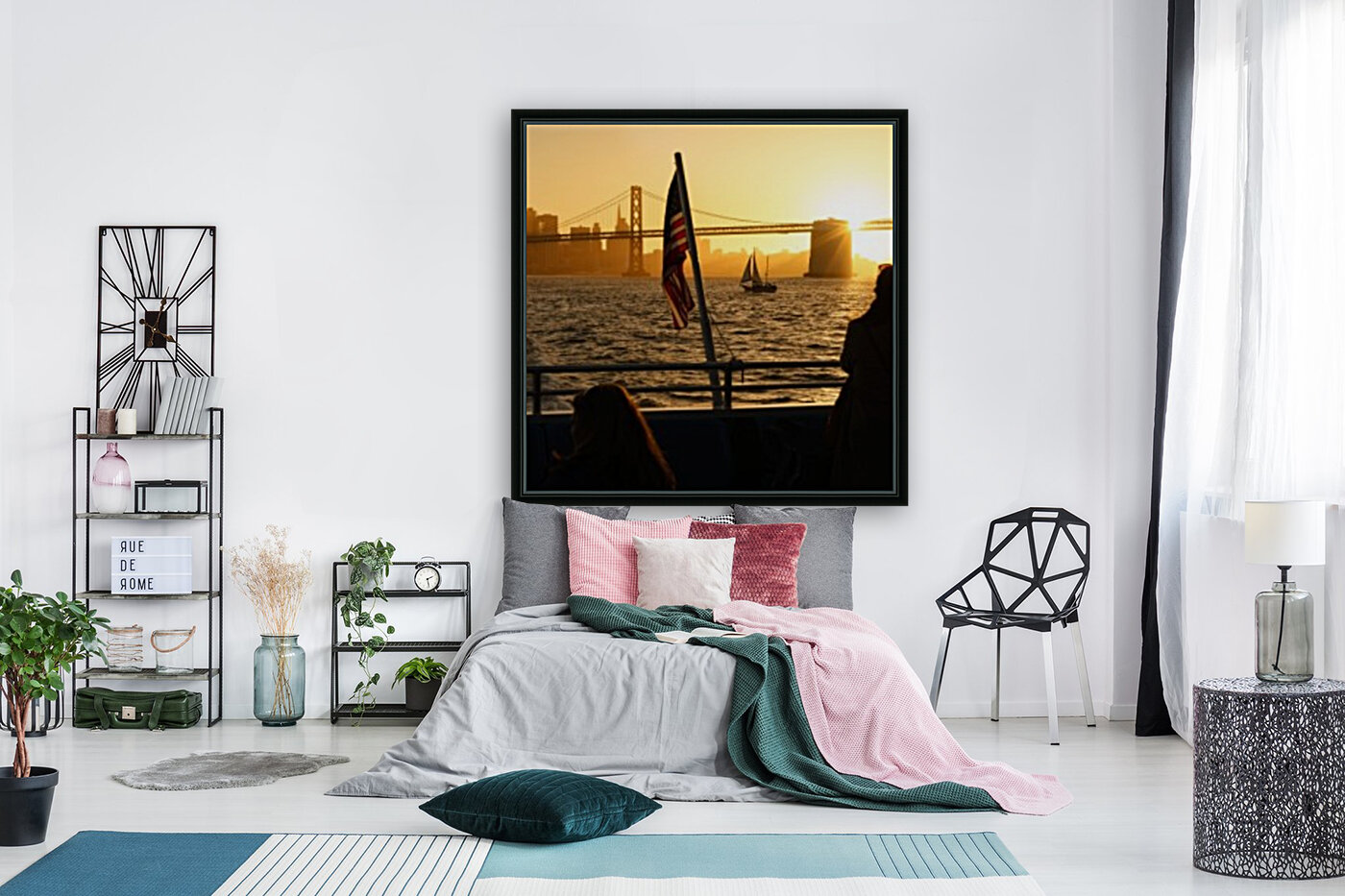 Sunset In The Bay  Art