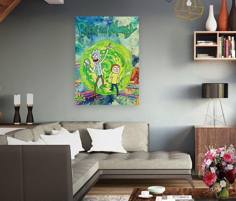 Rick and morty_   Art