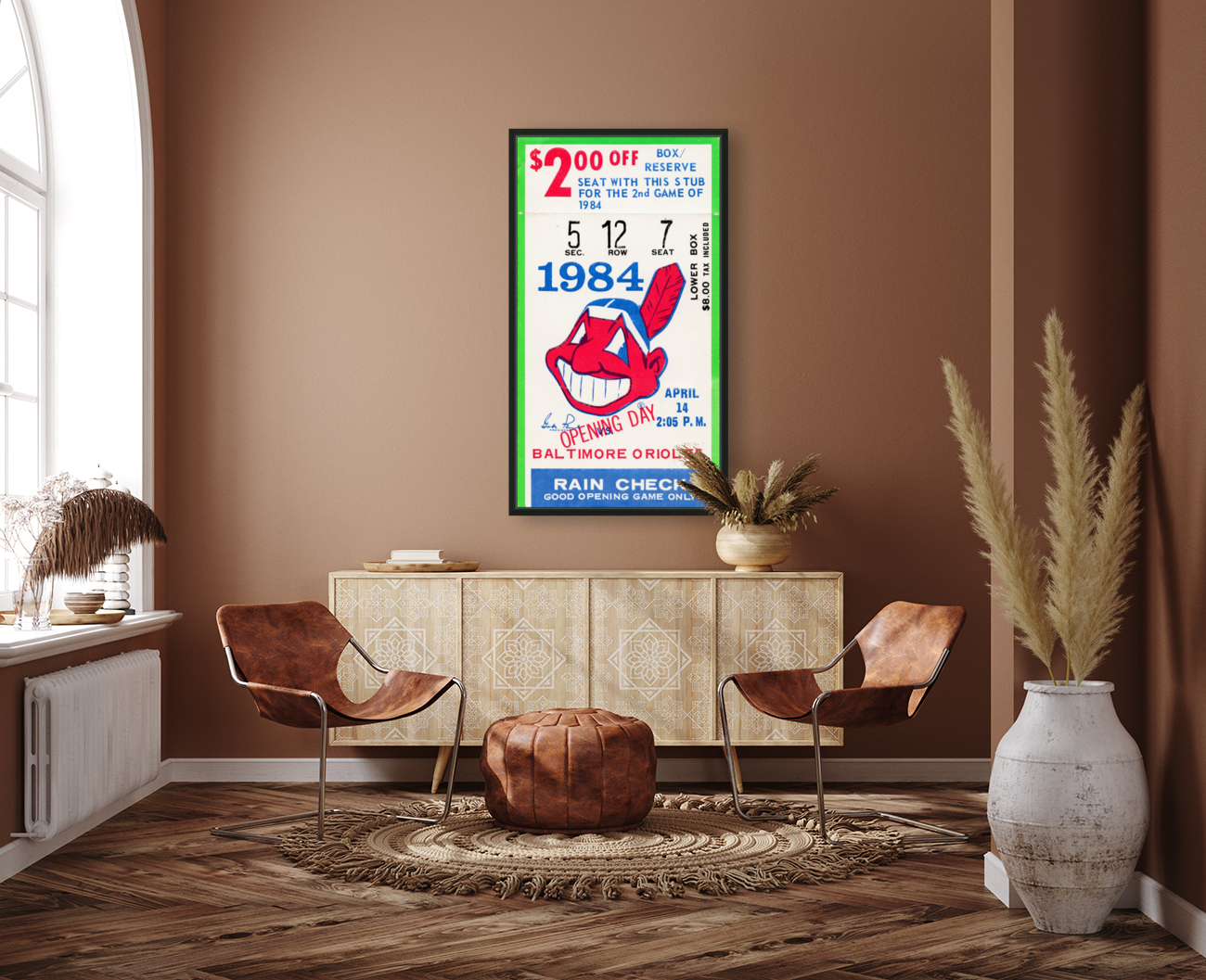 cleveland indians gift ideas fathers day ohio  Art