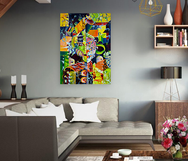 Pop Currealism Contemporary Vivid Utopia  Art