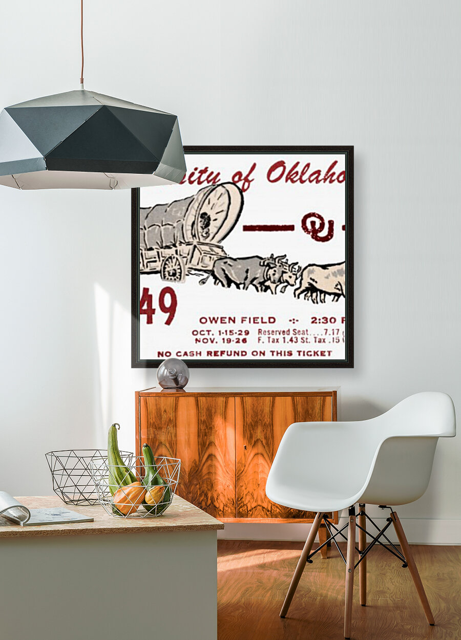 University of Oklahoma Gift Ideas for Sooner Fans  Art