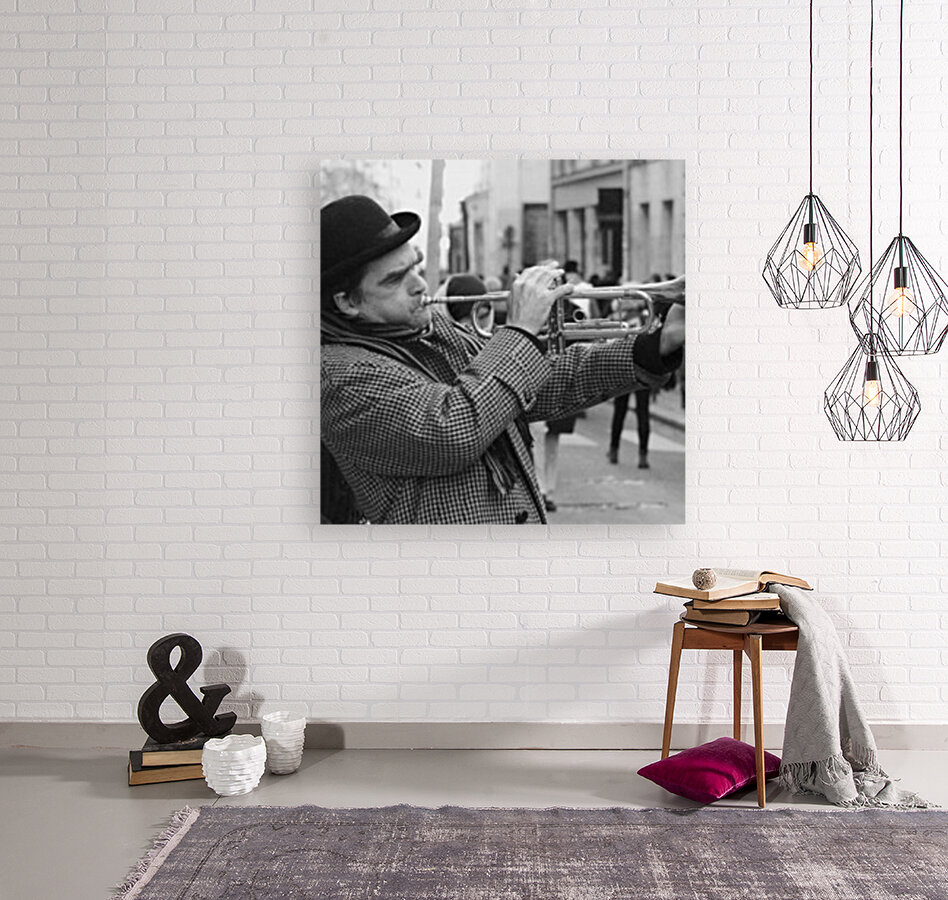Musique rue des Francs Bourgeois with Floating Frame