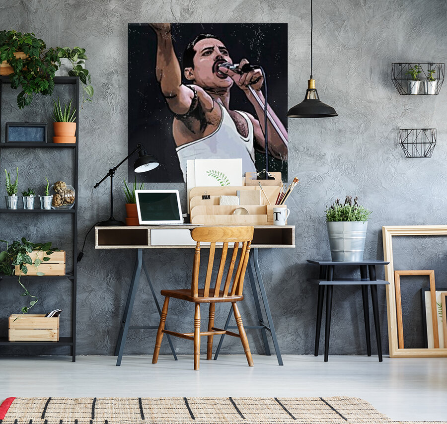 Freddie Mercury of Queen  Art