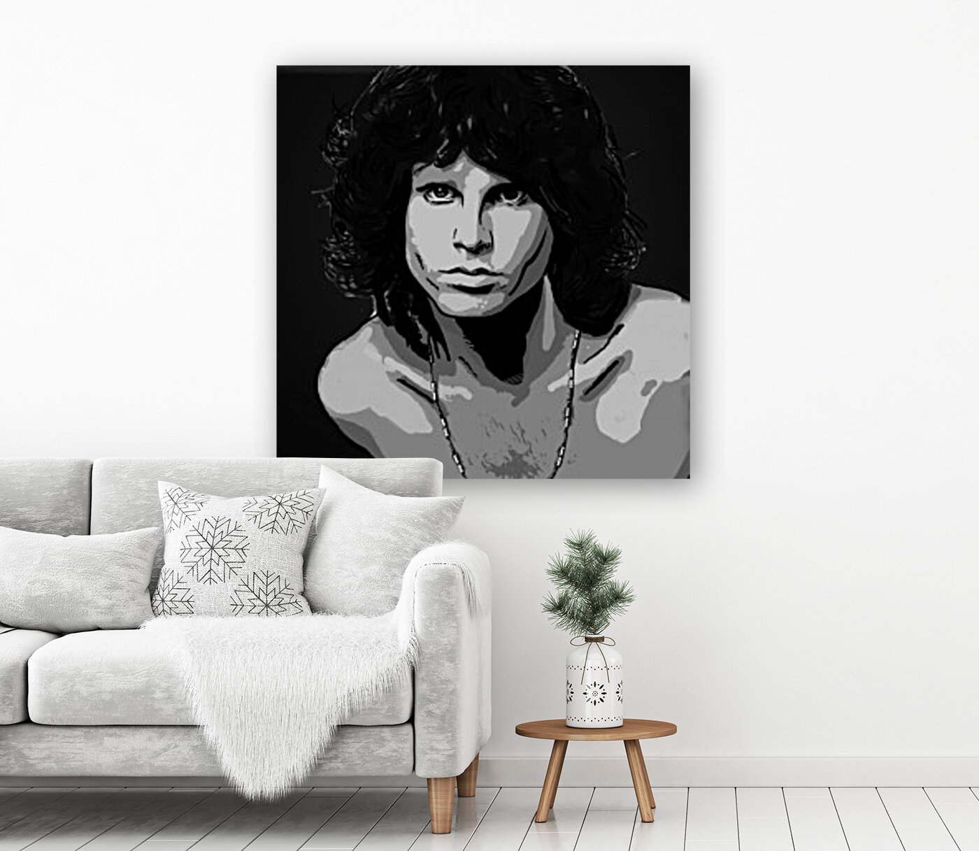Jim Morrison of The Doors   Art
