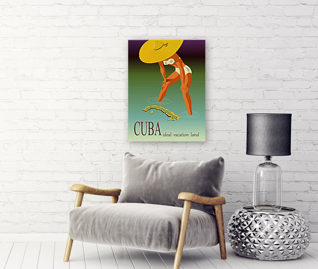 Big Girl over Cuba  Art
