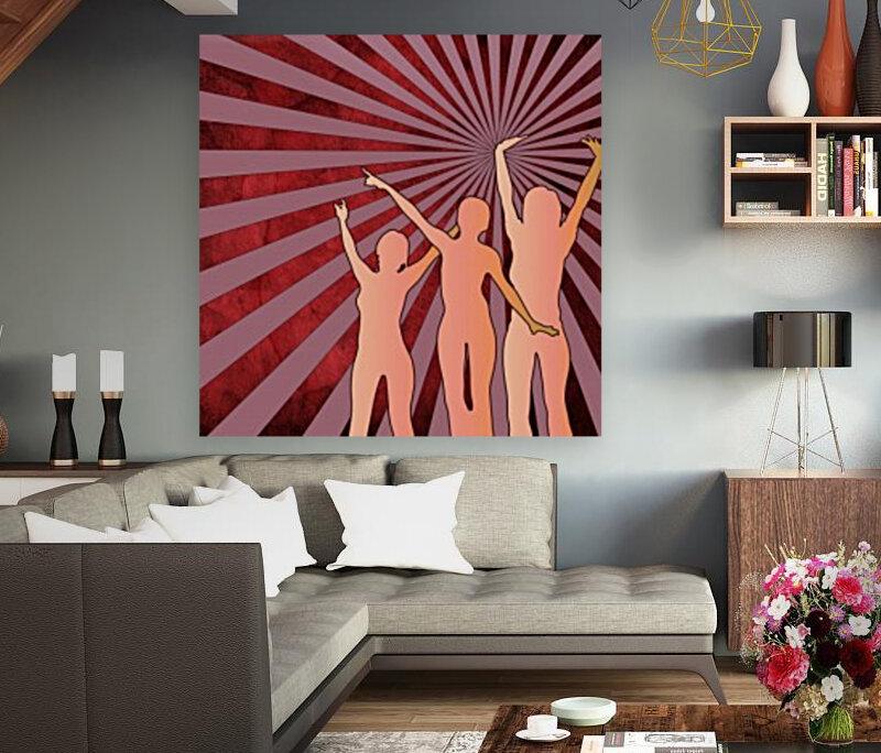 Dancing Girls  Art