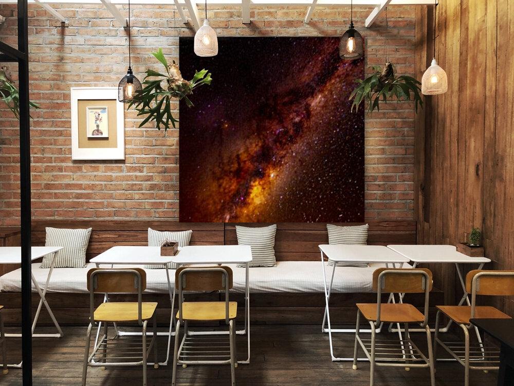 Galactic Core Explosion  Art
