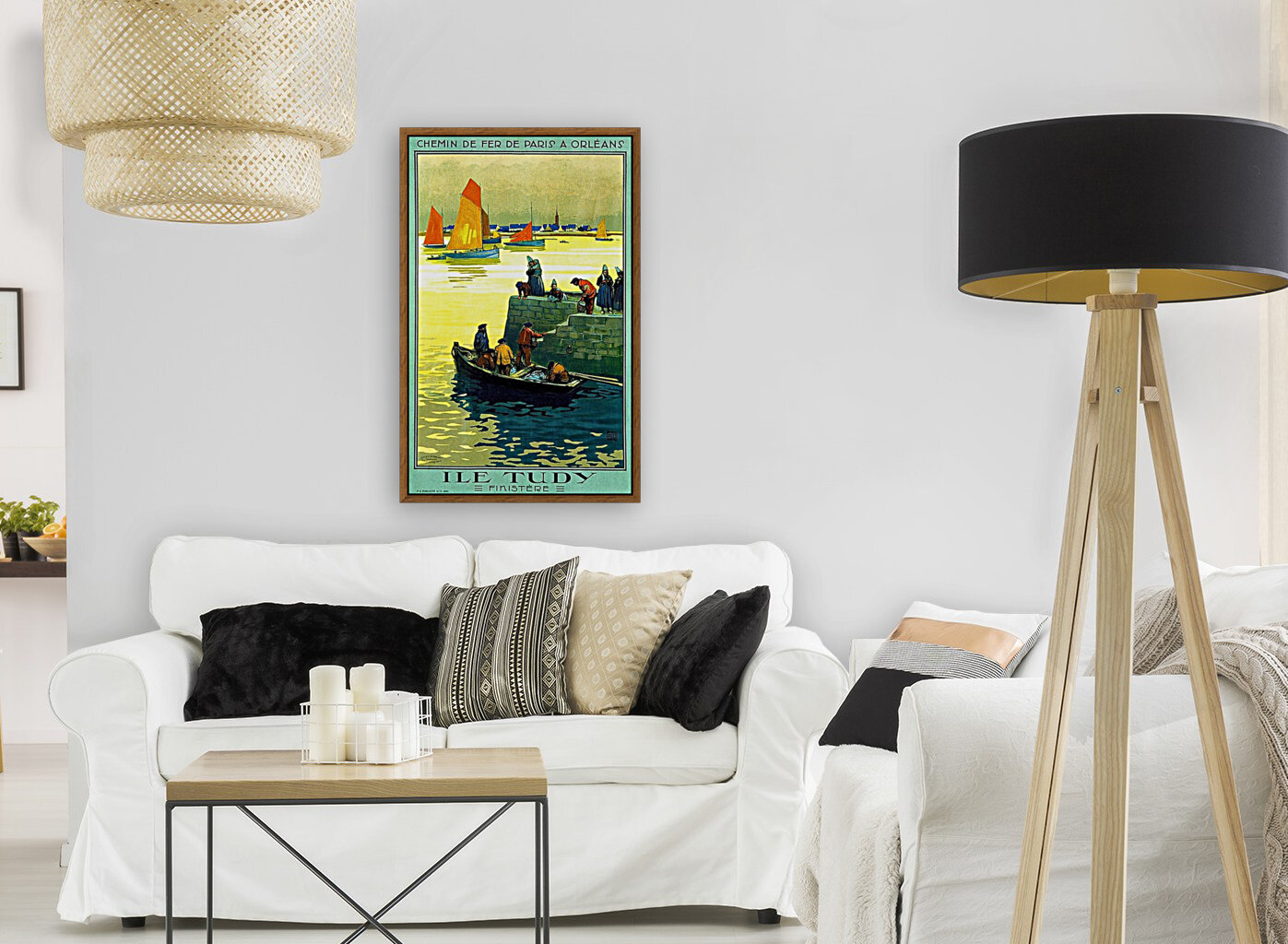 Ile-Tudy with Floating Frame