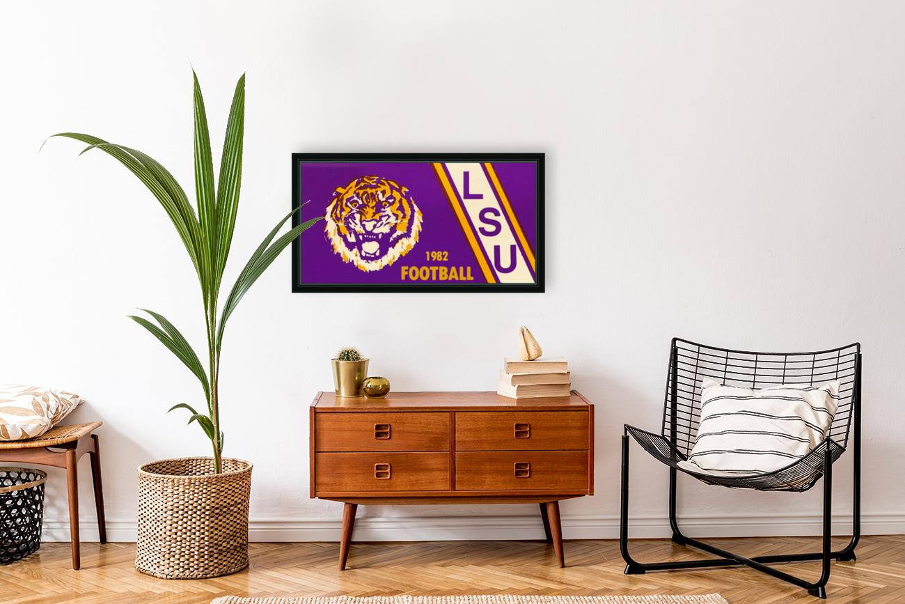 1982 LSU Football  Art