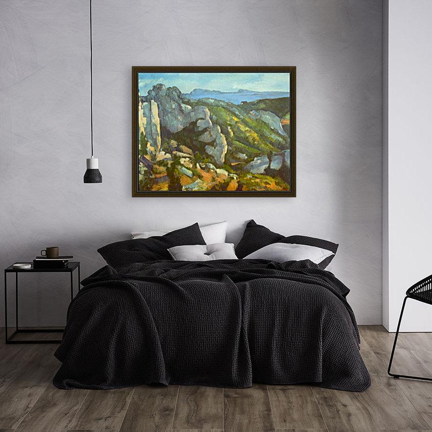 L Estaque by Cezanne  Art
