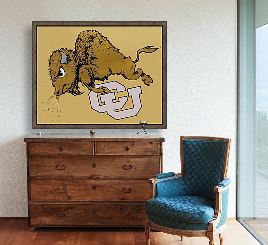 vintage cu colorado buffaloes art  Art