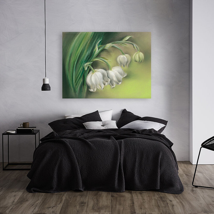 Lily of the Valley Flowers  Art