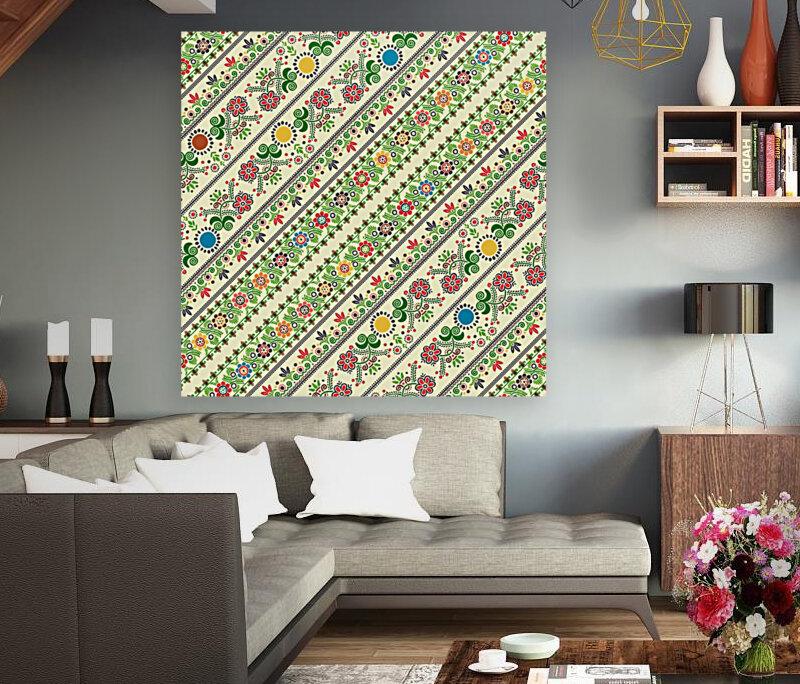 Hungarian seamless pattern   Art