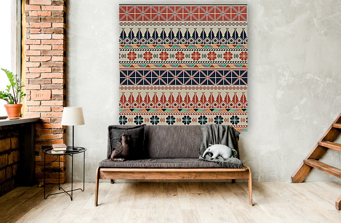 Palestinian embroidery pattern   Art