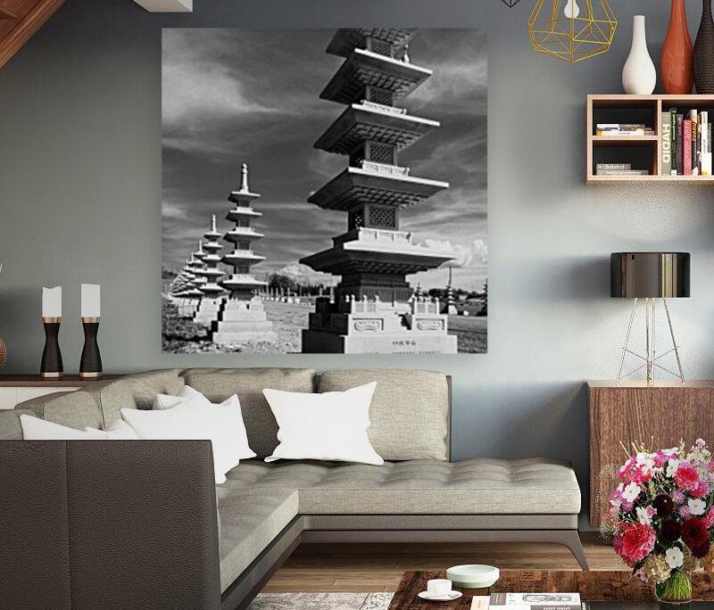 Vanishing Towers of Wutai Shan  Art
