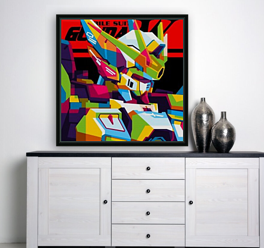 Wings Gundam Zero Pop Art  Art
