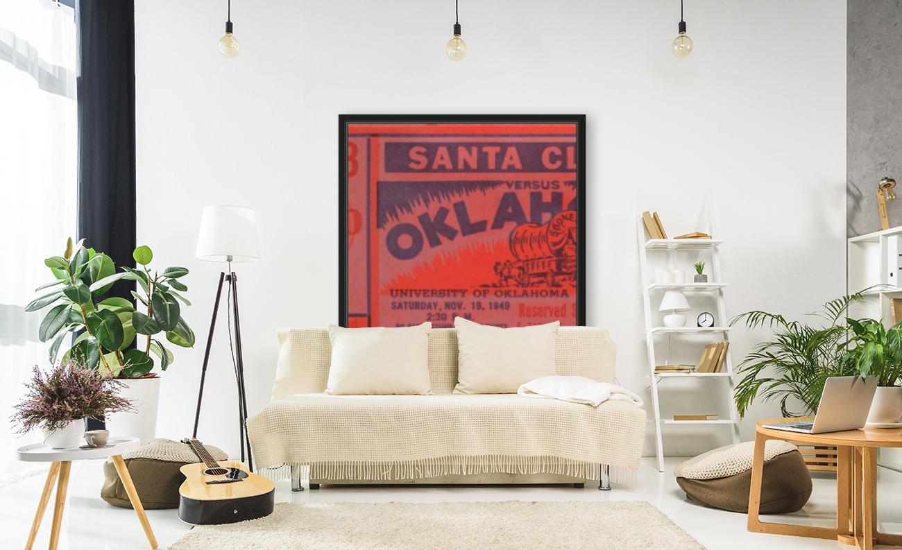 1949 oklahoma sooners bud wilkinson undefeated sooner team  Art
