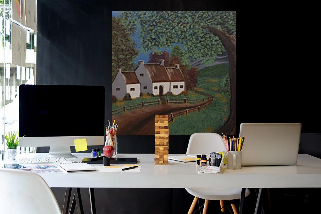 Summer cottage  Art
