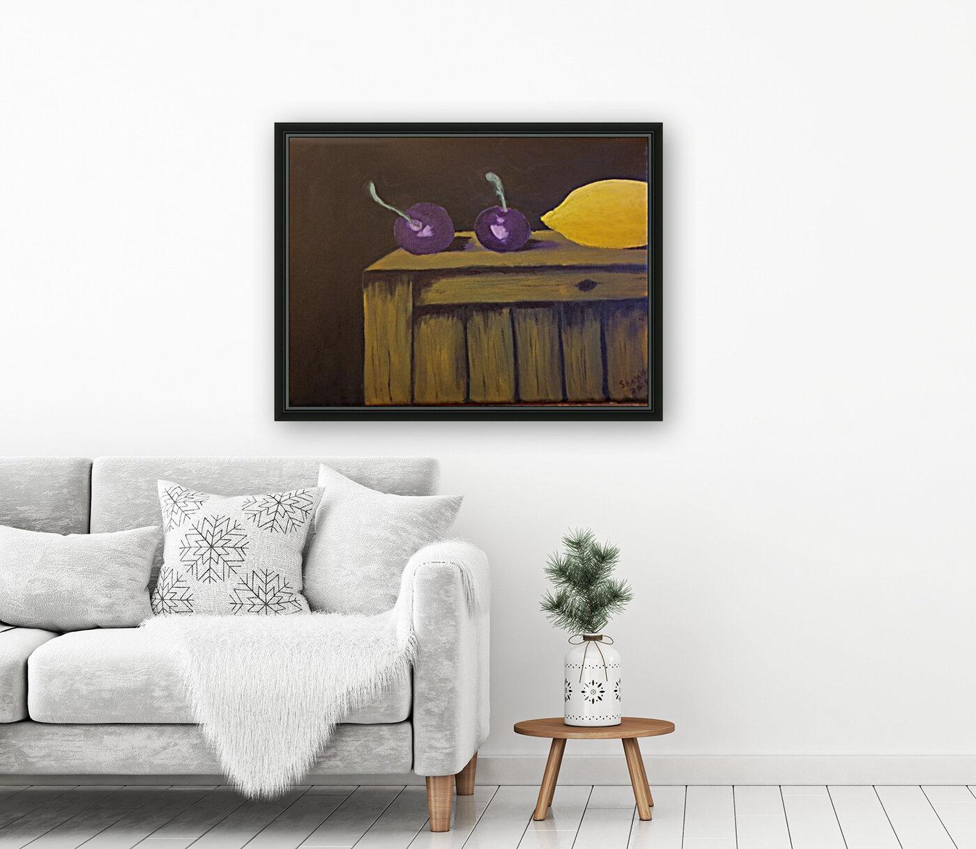 Lemon and Plums  Art