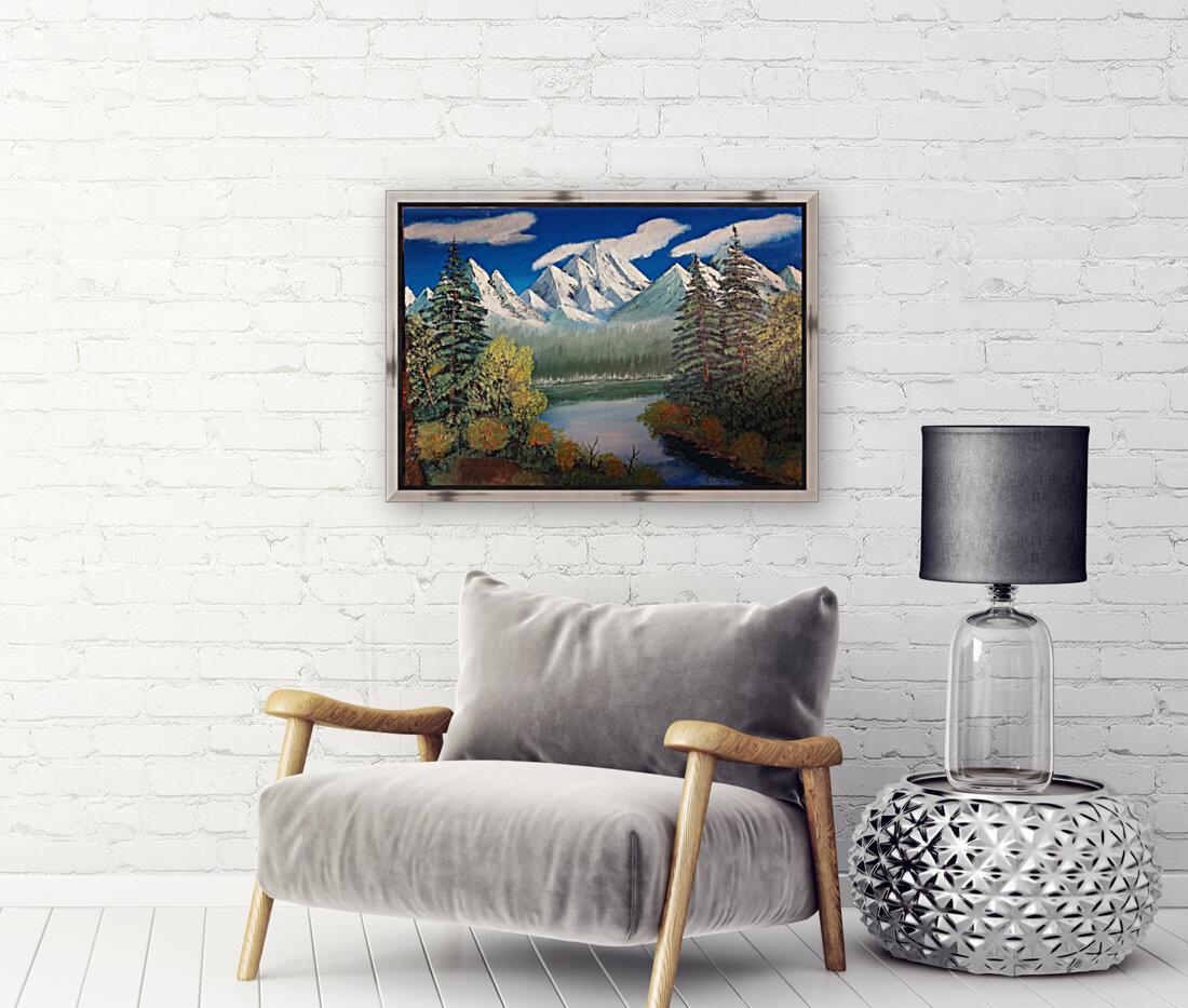 Mountain lake  Art