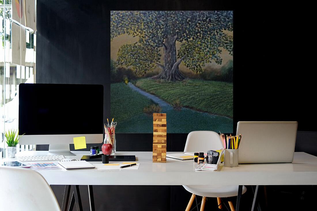 The sentinel tree  Art