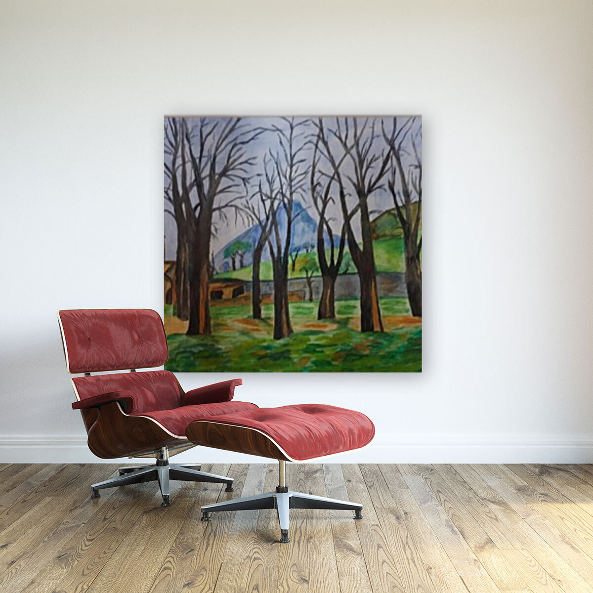 Cherry trees  Art