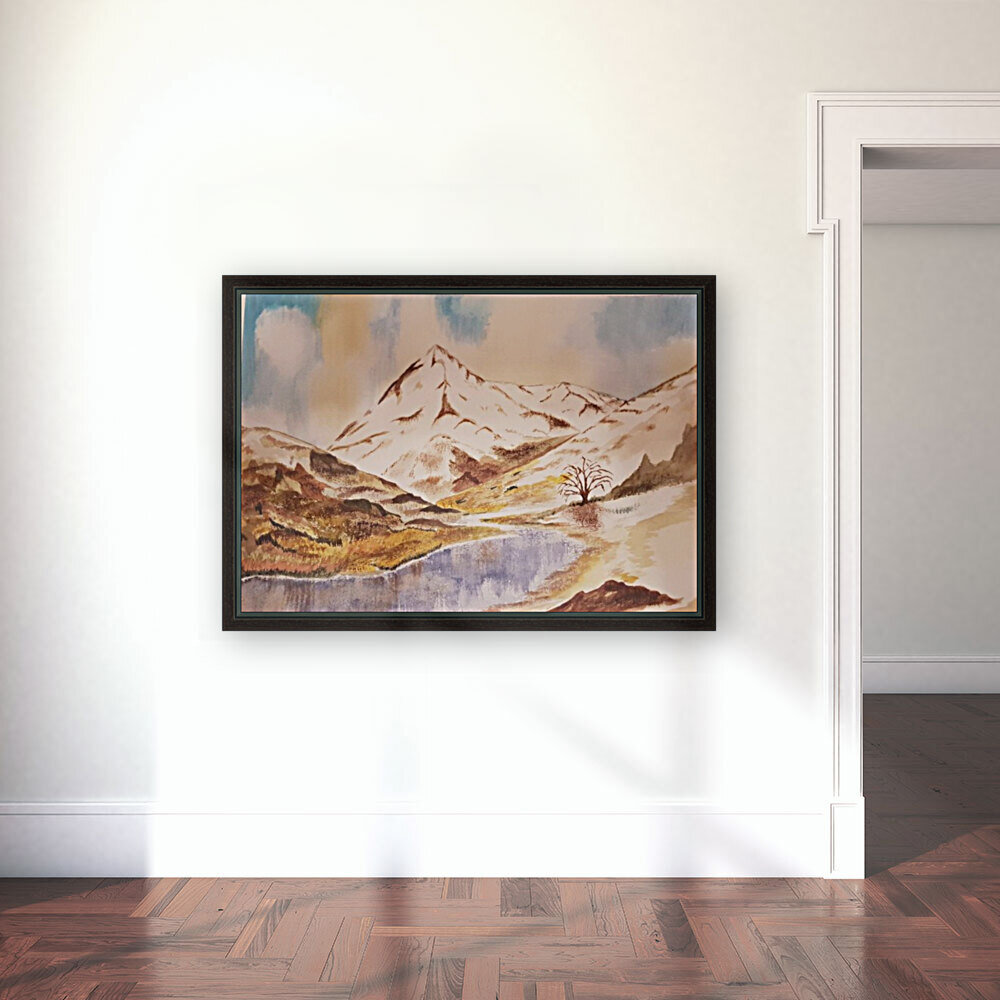 Ladakh Stream  Art