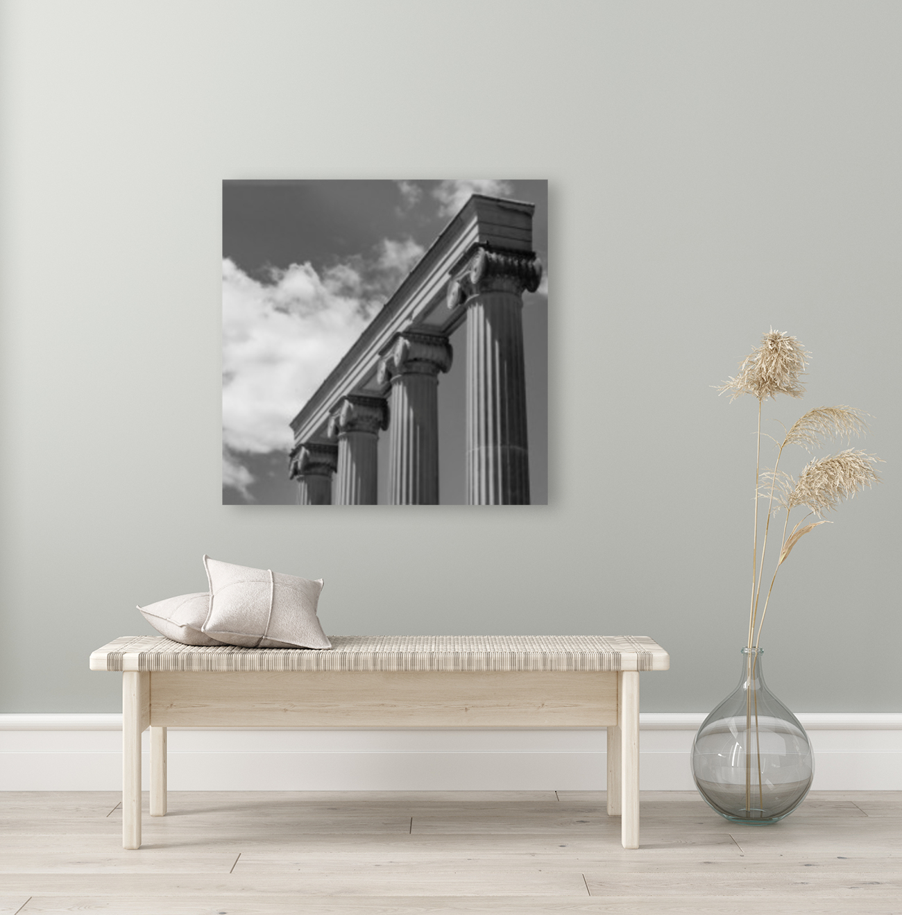 KIng West Columns  Art
