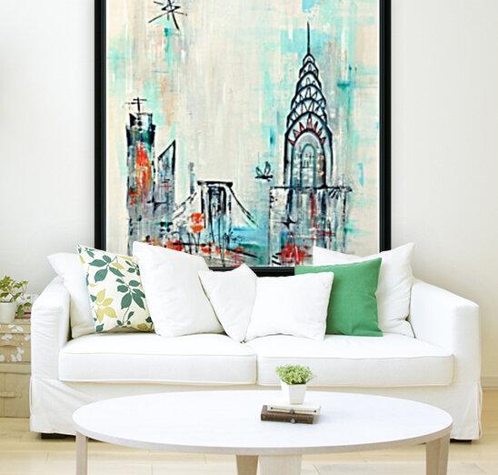 New York skyline  Art