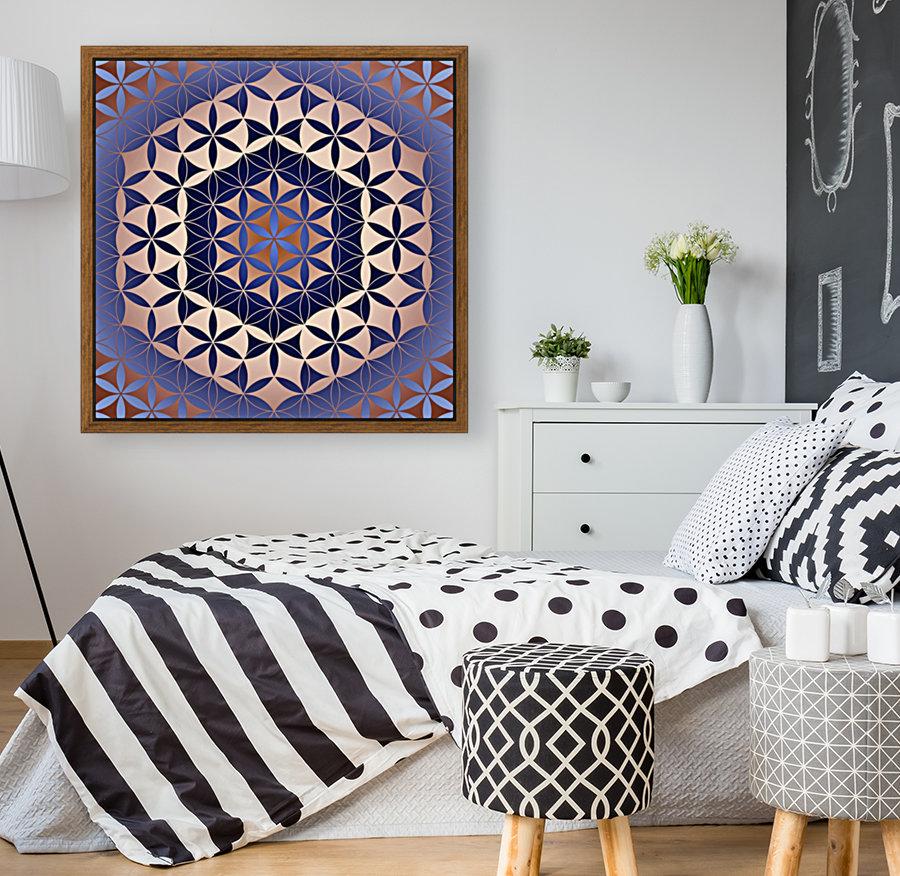 Flower of Life Mandala Pattern  Art