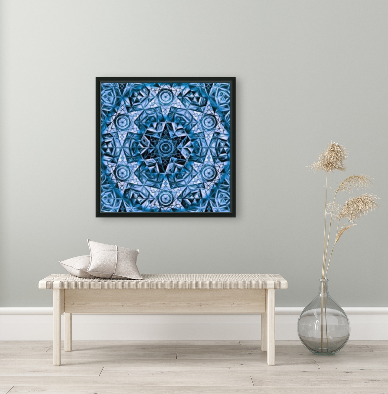Sacred Geometry Handdrawing Pattern  Art