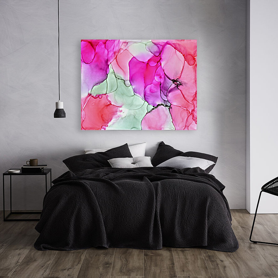 Happiness in Pink  Art