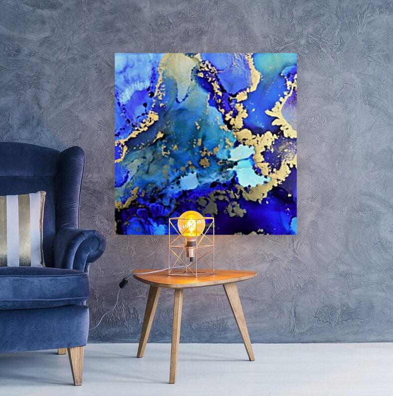 Starlight in Blue  Art