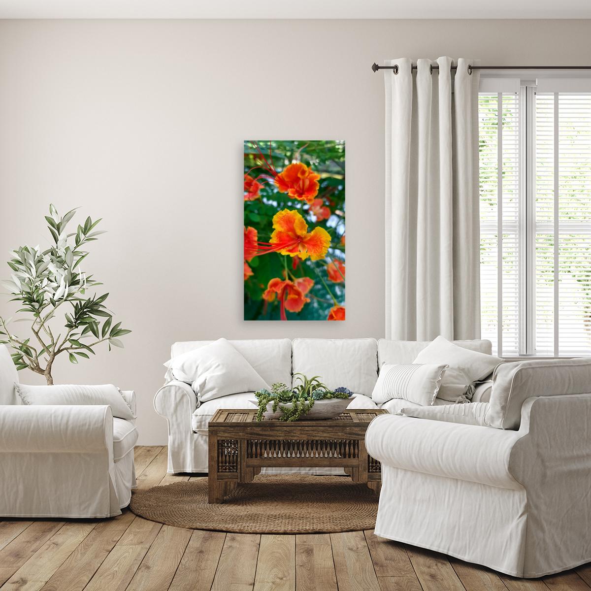 Orange gumamela  Art